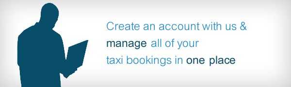 Create A Customer Account And Manage All Your Taxi Bookings In One Place